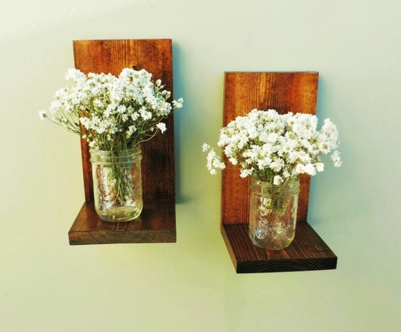 Country Wall Sconces For Candles : Items similar to Wall sconce, candle sconce, candle shelf, rustic sconce, country decor, wooden ...