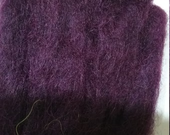 JUST PURPLE - 1 metre alpaca roving