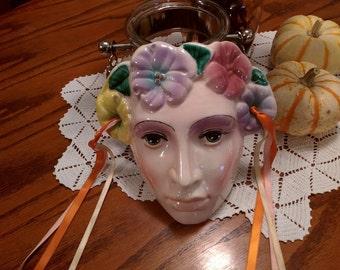 Vintage Mother Nature Decorative Mask