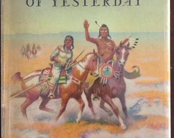 Indians of Yesterday, vintage children's book