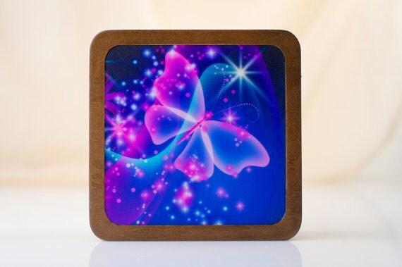 sale butterfly nightlight butterfly lamp sale nursery decor nursery. Black Bedroom Furniture Sets. Home Design Ideas
