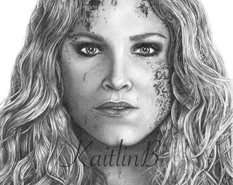 Clarke Griffin (Eliza Taylor) of The 100