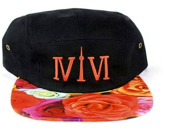 """Sale! 416 Toronto 5 panel Flyness! The Roman Numerals Stand For """"416"""", With The """"1"""" Resembling The CN Tower."""