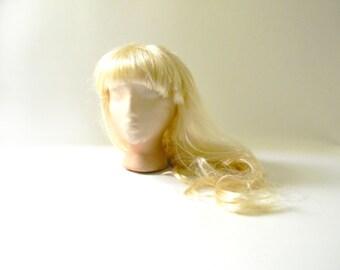 Vintage Women's Long Blonde Wig / Halloween Costume