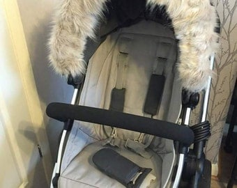 Faux fur Hood Trim for I Candy Pram/buggy.