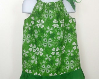 Saint Patrick's Day Pillowcase Dress