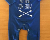 You Know Nothing Jon Snow Baby Rompersuit / Playsuit