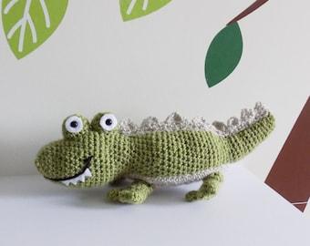Clifford the Crocodile crochet pattern **pattern only**