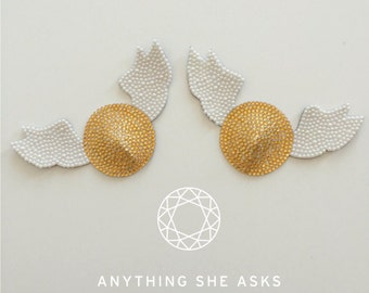 Golden Snitch Nipple Pasties