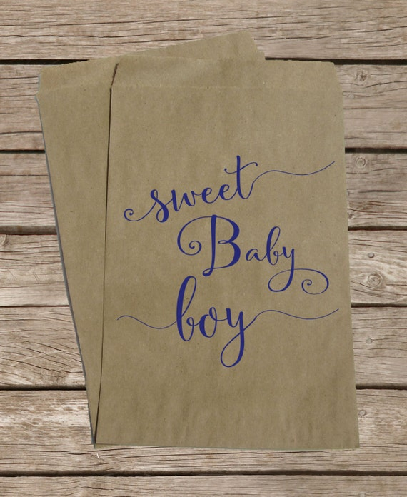 baby shower candy bags baby boy treat bags baby shower candy buffet