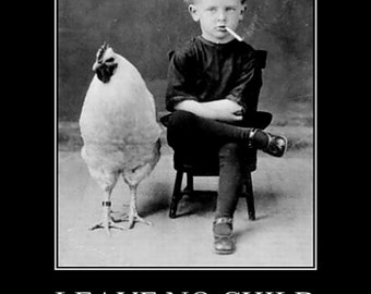 """RETRO / VINTAGE PRINT;  retro, vintage photography - """"Behind"""" funny; amusing; any occasion"""