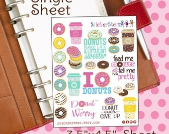 Sprinkles - Small Sheets Planner Fun Stickers