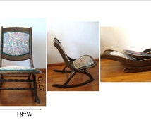 Popular Items For Wood Rocking Chair On Etsy