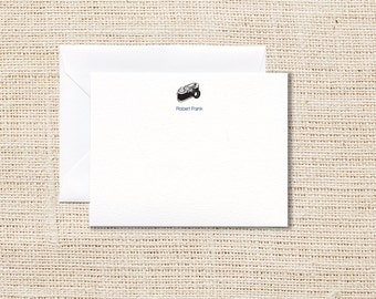 Camera Personalized Stationery - Set of 20 - Flat Note Cards