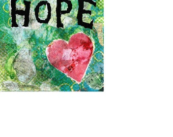 Hope  . . . . .   Art Print - available in multiple sizes and finishes.