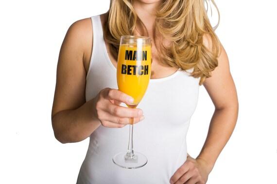 Main Betch champagne glass