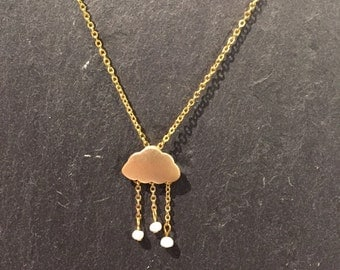 Its a rainy day - necklace
