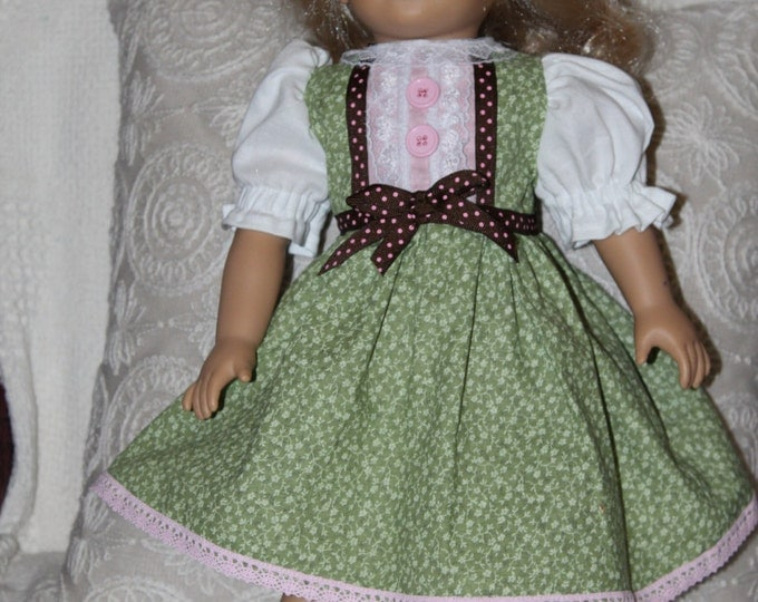 "Doll Dress, 18"" doll Dress, Fits AG dolls"