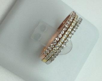 Cartier Trinity 3 rings.