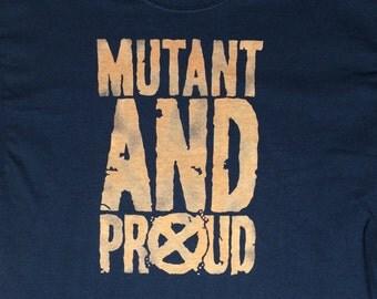 X-Men Mutant and Proud Bleach Shirt