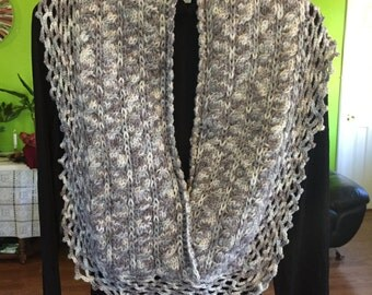 Marble Gray Scarf