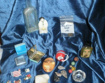 1960s Lot of 24  items from an old box of forgotten collectibles 1st batch