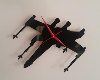 X Wing Clock