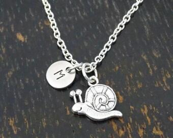 Snail Necklace, Snail Charm, Snail Pendant, Snail Jewelry, Fossil Necklace, Fossil Jewelry, Snail Lover, Animal Necklace, Animal Jewelry