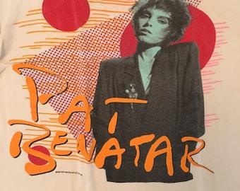 Vintage 80s Pat Benatar Concert Tour Tshirt - Vintage Pat Benatar 1986 Tee - Large