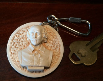 Shakespeare Keychain