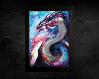 Fantasy Sea Dragon Print