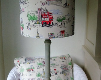 Cath Kidston- Billie goes to town Handmade Childrens Lampshade