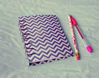 Belgian Bound Notebook - Zigzag