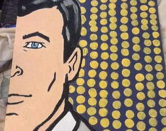 Sterling Archer painting