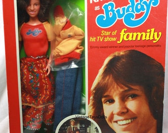 "Vintage Mattel Kristy McNichol ""Buddy"" Doll & Original Box 1978"