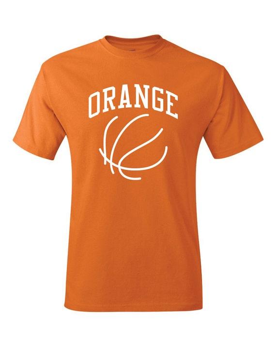 Syracuse orange t shirt 2015 16 basketball orange by for Syracuse orange basketball t shirt