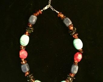 SPECTACULAR Stones! Amazing Tribal Necklace