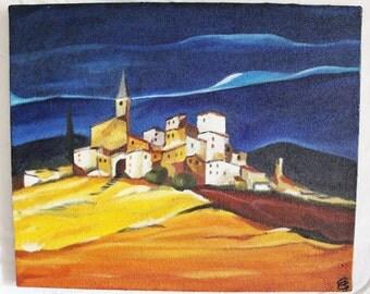 "Oil painting ""Night Provençale"""