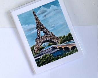 Strong Tower Notecards (Pack of 4 with envelopes)