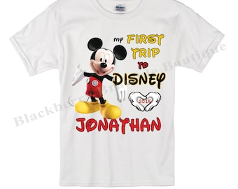 My First Trip to Disney Shirt