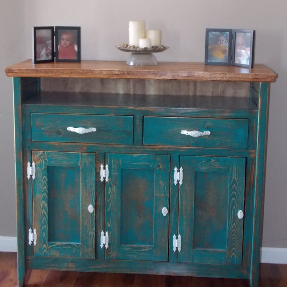 buffet table tv console reclaimed furniture farmhouse