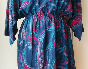 Dress Lanvin vintage pure silk size 42 or L