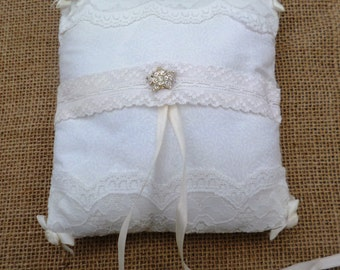 SALE!!!!  Wedding Ring Bearer's Pillow