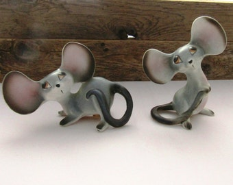 Big Ear Mice Salt and Pepper Shakers Japan
