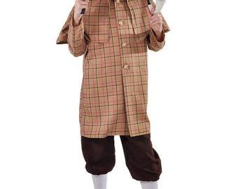 Kids Deluxe Sherlock Holmes / Victorian Costume