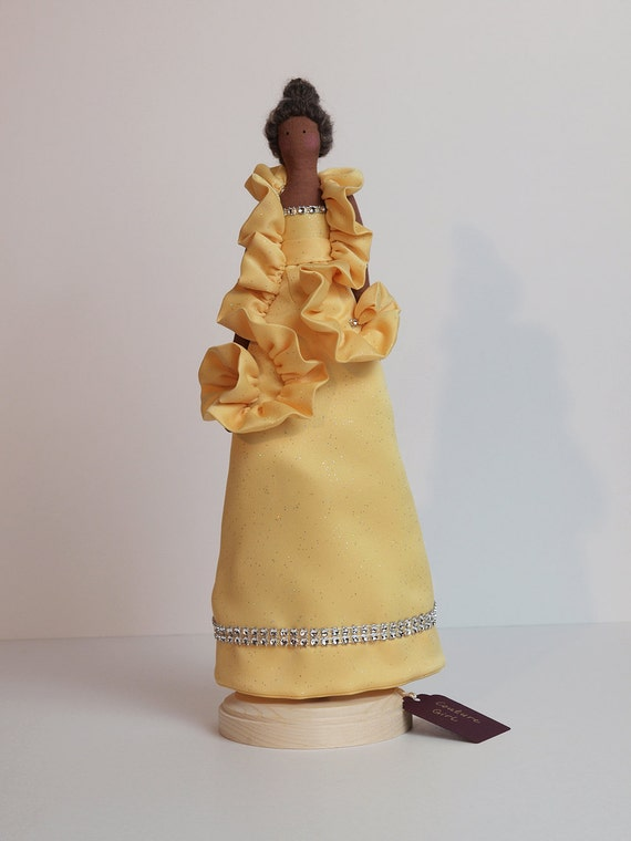 Couture Girl - Tilda-style doll