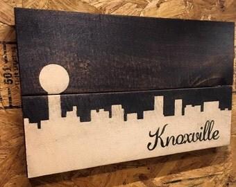 Skyline Piece: Knoxville, TN
