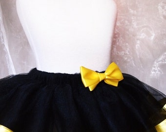 Yellow and Black Tutu
