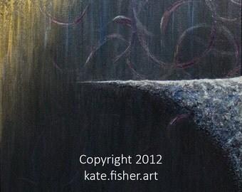 "Original Fine Art Painting - ""Perspective"""