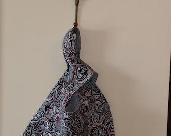 Paisley Japanese Knot Bag